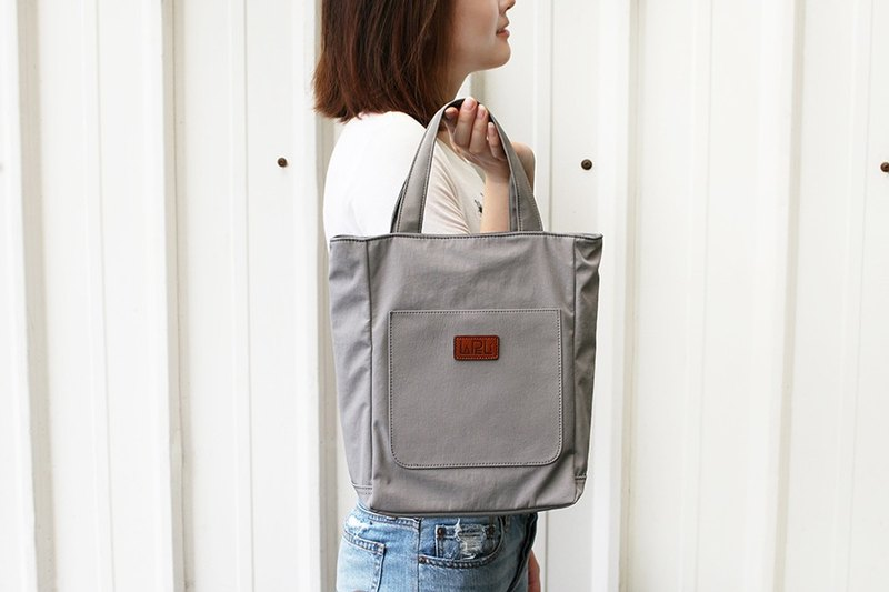 LAPELI │ Sports casual handbag foggy ash