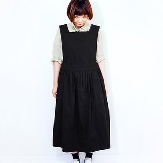 Apron one piece black