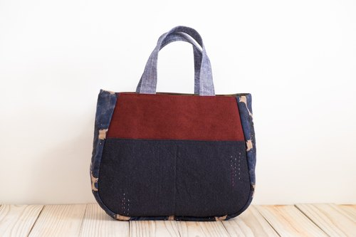 Tote - Red x Black EH101