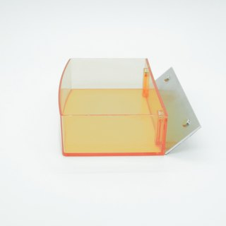 Magnetic Dressing Sticker_Ping High Storage Box - Orange