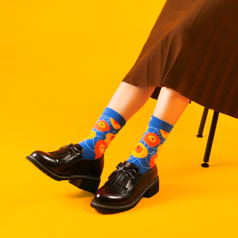 | Flower Series | Printed Socks-Shijia Touches You