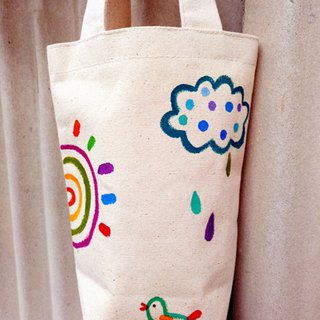 [Pure hand-painted] kettle bag | beverage bag | green cup bag | umbrella bag | universal bag |