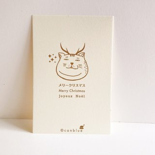 Fat Cat International Flower ── Christmas greeting cards