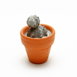 Concrete Cactus Mini Pot - Eternity Series