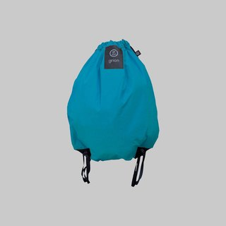 grion waterproof bag - back section (L) Turkey blue