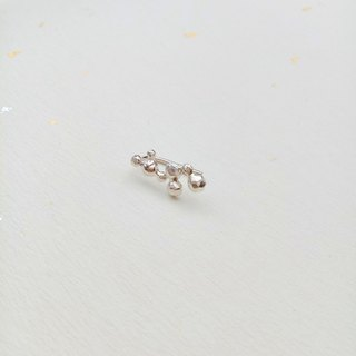 【Hongsheng Jewelry】 Lei earrings 925 sterling silver single