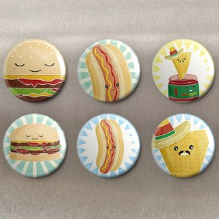 Delicious no limit - magnet (6 in) / badge (6 in) / gift [Special U Design]