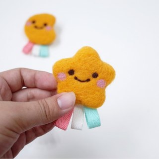 【Q-cute】 smile Xingyue children - pin / brooch