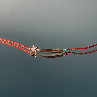 Perseids Bracelet - Red Thread Special Edition