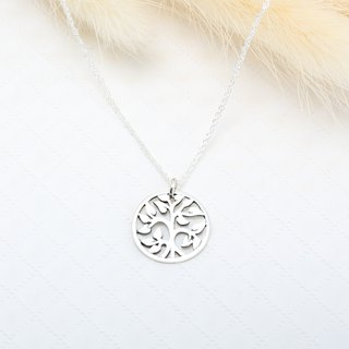 Tree of Life s925 sterling silver necklace Birthday Valentine's Day gift