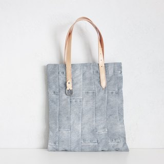 """Jeans"" Tote. Grey"