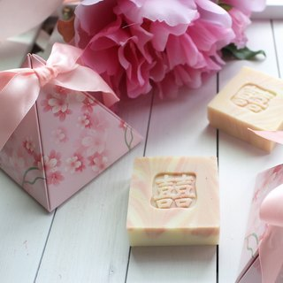 [Lai Anbai] The love of hope. Wedding small things │ explore the room │ 囍 word small soap │ bath soap