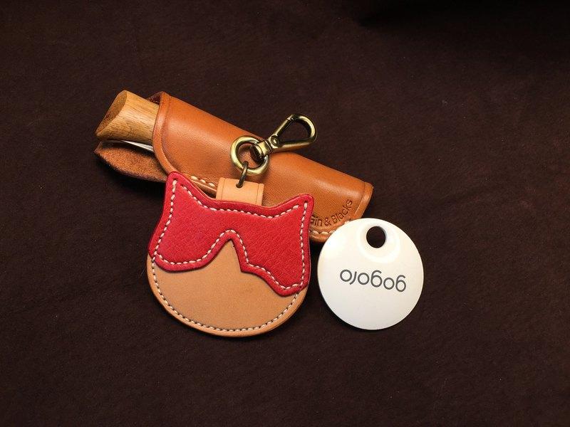 雙色版貓咪 gogoro 鑰匙皮套組