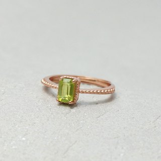 Natural Peridot Peridot International Sterling Silver Ring Light Jewelry