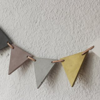 Wall necklace | The Necklace. Cement pennant / wall decoration / decoration / home layout / layout