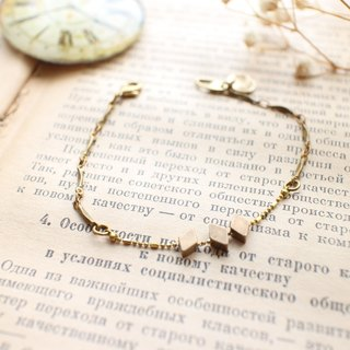 Golden candy-Brass bracelet