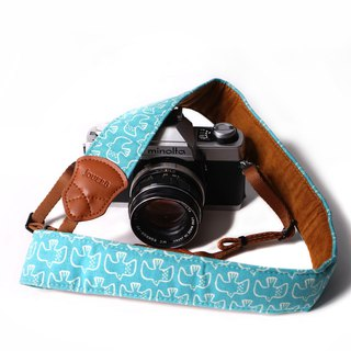 Hundred Birds Sky Blue 4.0 Decompression Camera Strap