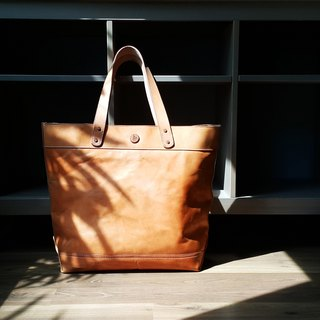 Mens Leather Tote Bag / Mens Leather Work Bag
