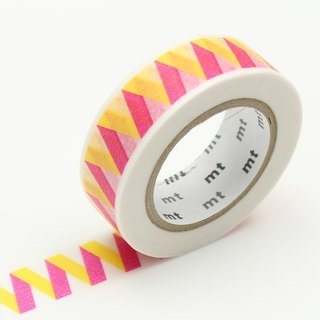 Mt and paper tape Deco [Folding curve - yellow (MT01D351)]