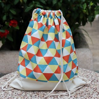 Silverbreeze~ Backpack Backpack ~ Triangle Pattern (B15)