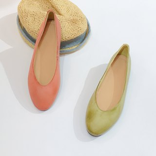 Two-tone flat shoes||City Double Doo Wildflower Steppe || #8124