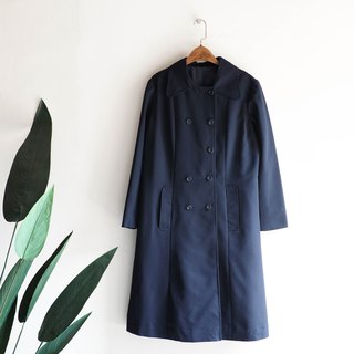 Aichi Hailan Youzi Japanese college antique thin windbreaker jacket trench_coat dustcoat