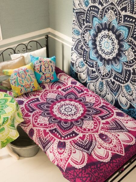 [Pre-order] ✱ luck mandala fabric ✱ (4 colors)