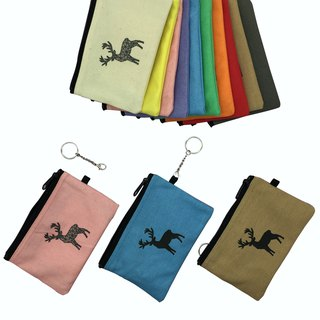 YCCT Key Purse - Reindeer - Three ways to use to meet multiple possibilities