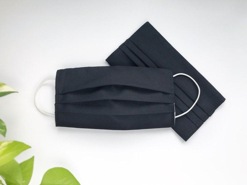 黑口罩套優惠組 可快速出貨 / 台灣棉布 可清洗 重複使用 /非口罩