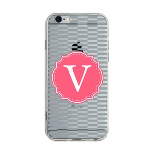 Letter V iPhone X 8 7 6s Plus 5s Samsung S7 S8 S9 Phone Case