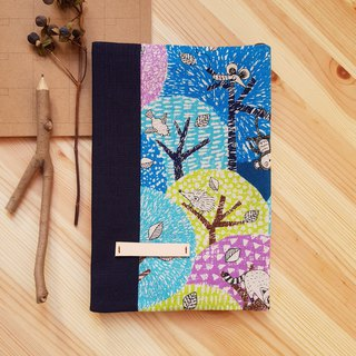 Small animal on A5/25K adjustable cloth book color tree