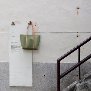 Be Two ∣ Matcha Green Hand Tote / Shoulder Bag / Tote