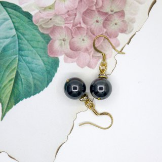 [Riitta] Obsidian brass drill (interchangeable ear clip)