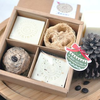 Christmas handmade soap gift box