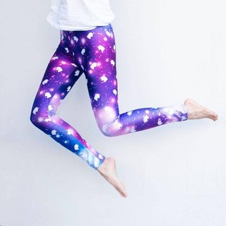 Uni Unicorn Galaxy Leggings (yoga/workout/casual)