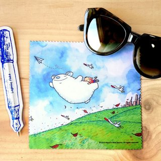 A-market big mud glasses cloth -12 With you I will fly, AMK-BSLC00112
