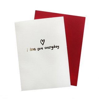 Emoji Fun Collection - I love you everyday