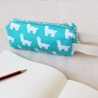 Grass mud horse alpaca portable pencil case / storage bag universal bag pencil case