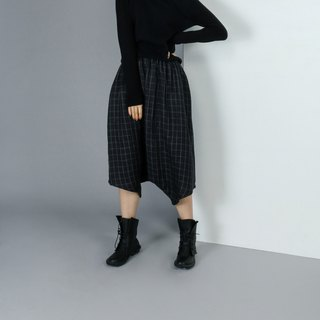 【Custom】Plaid harem pants