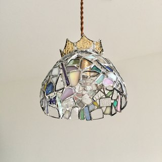 Pendant light Jewel Night Clear Glass Bay View