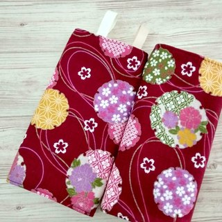 DROOL PADS, Ergo, Lillebaby, Beco, Tula, BabyBjorn, Japanese Flower Red