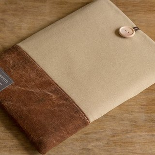 "Tablet Case iPad Pro 9.7 ""iPad Air Kindle iPad mini Cover / Camel & Brown"