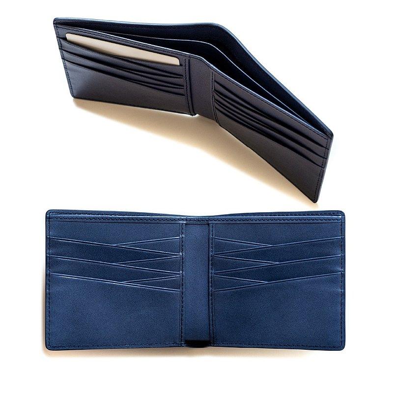 Patina 真皮手工訂製 12卡 摺疊短夾