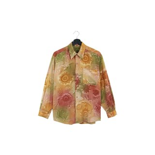 Back to Green:: Fruit Smudge // Wearable for both men and women //vintage Shirts