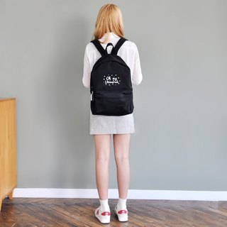 Dear My Universe Oh My Little Universe Backpack - Black
