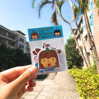 Sun flower friend stickers package