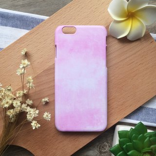 Pink Macaron Watercolor. Matte Case( iPhone, HTC, Samsung, Sony, LG, OPPO)