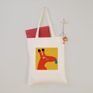 [Animal Graffiti] Anteater Canvas Tote Bag