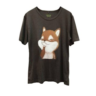 emmaAparty illustrator T: handsome handsome Shiba Inu (wide version limited edition)