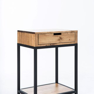 Industrial wind _ storage drawer / bedside table / low cabinet ***accept custom size***